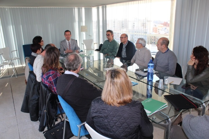Reunión Delegado Igualdad y entidades sociales