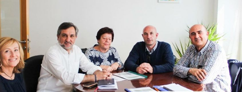 foto reunión con el diputado de b. social diputación