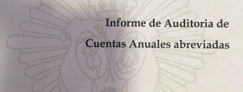 INFORME DE AUDITORIA DE CUENTAS