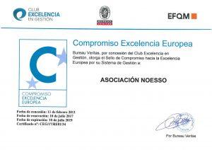 Certificado renovado de certificacion de calidad 2017