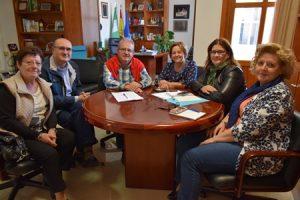 reunión ayuntamiento de vicar 20-11-2017
